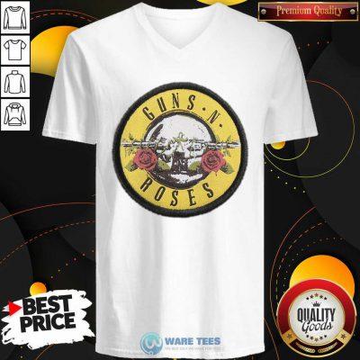 Pretty Guns N Roses Logo V-neck