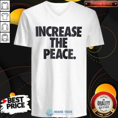 Pretty Increase The Peace V-neck