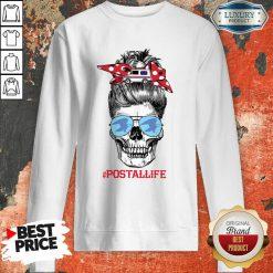 Skull Postal Life Sweatshirt