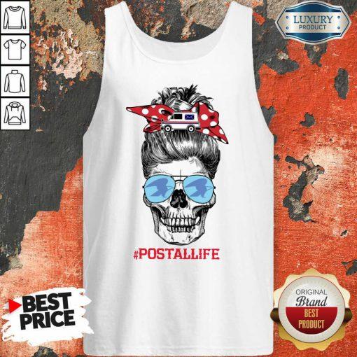 Skull Postal Life Tank Top