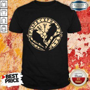 Crow Rune Viking Lover Shirt