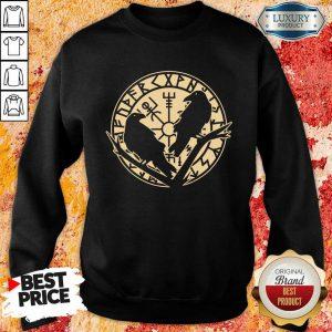 Crow Rune Viking Lover Sweatshirt