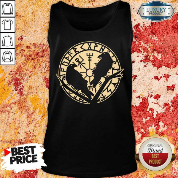 Crow Rune Viking Lover Tank Top
