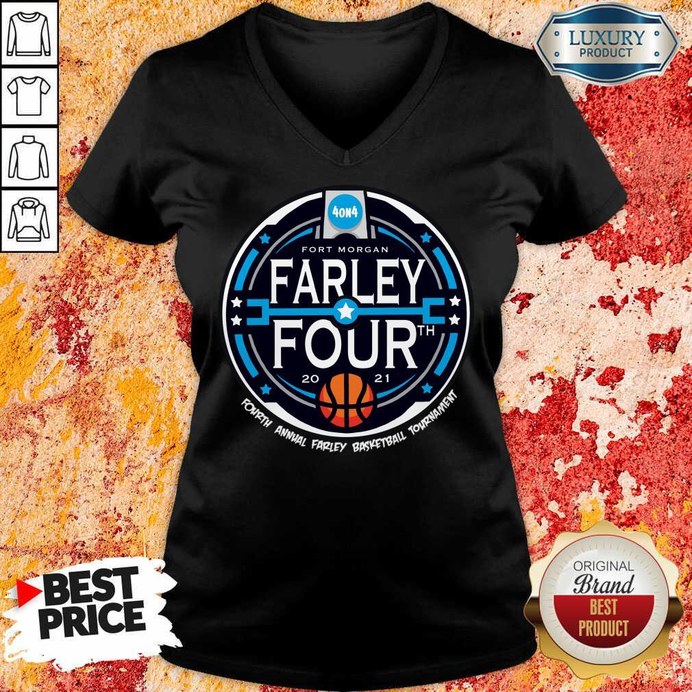 Farley Basketball 2021 V-neck