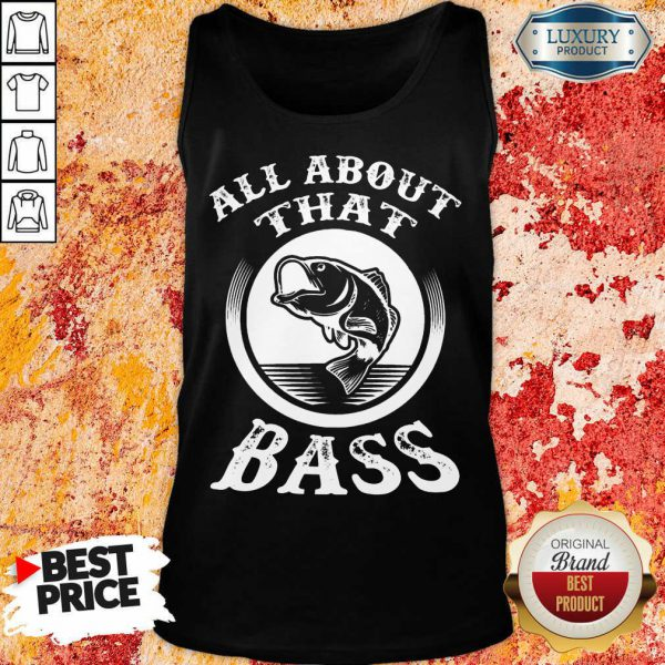 Fishing All About That Bass Tank Top