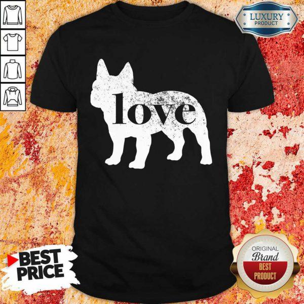 French Bulldog Love A Vintage Shirt