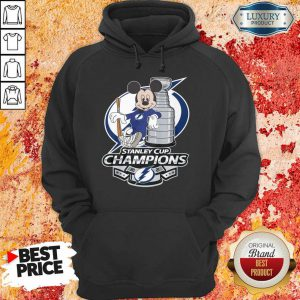 Mickey Mouse Stanley Cup Champions 2021 Hoodie