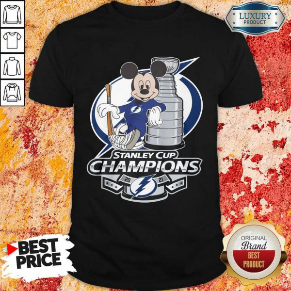 Mickey Mouse Stanley Cup Champions 2021 Shirt