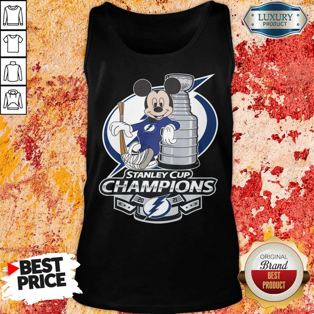 Mickey Mouse Stanley Cup Champions 2021 Tank Top