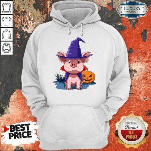 Pig Halloween Pumpkin Pig Owner Hoodie