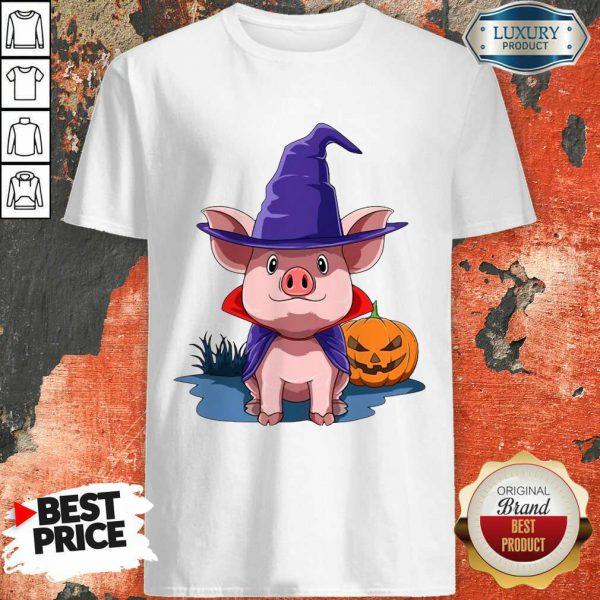 Pig Halloween Pumpkin Pig Owner Shirt