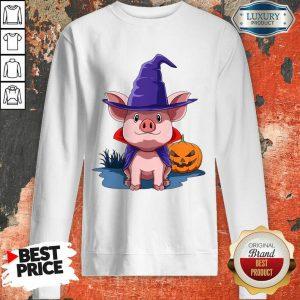 Pig Halloween Pumpkin Pig Owner Sweatshirt