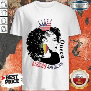 Queen African American Flag Shirt
