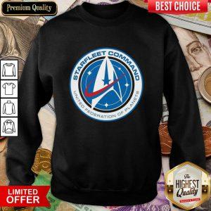 Star Trek Starfleet Command United Federation Of Planets Sweatshirt