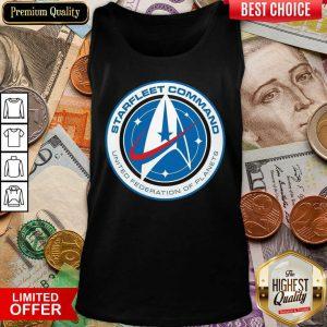 Star Trek Starfleet Command United Federation Of Planets Tank Top