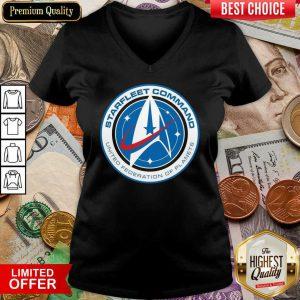 Star Trek Starfleet Command United Federation Of Planets V-neck
